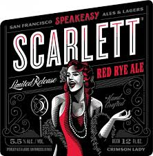 Speakeasy Scarletts Red Rye