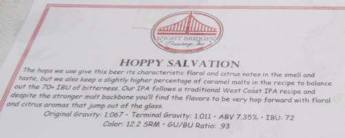 Eight Bridges Hoppy Salvation