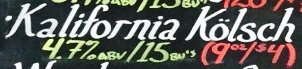 Magnolia Kalifornia Kolsch