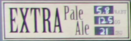 Sunset Reservoir Extra Pale Ale