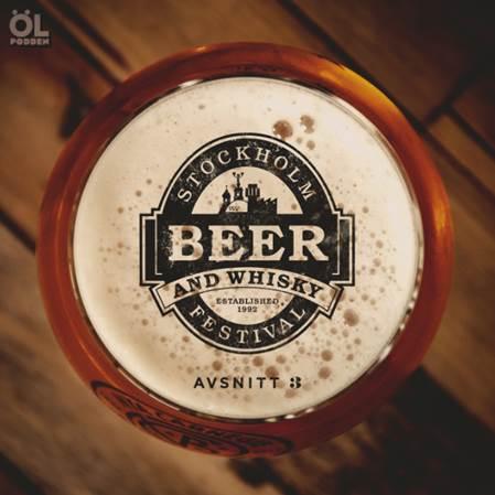 Ölpodden på Stockholm Beer & Whisky Festival