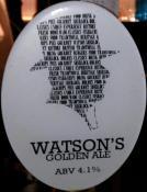 Watson's Golden Ale