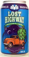 Brazos Valley Lost Highway Galaxy IPA