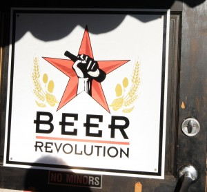 Beer Revolution Front Door