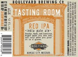 Boulevard Tasting Room Series Red IPA