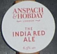 Anspach & Hobday The India Red Ale