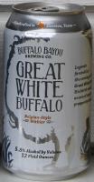 Buffalo Bayou Great White Buffalo
