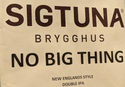 Sigtuna No Big Thing