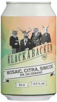 Klackabackens IPA On Demand: Mosaic, Citra, Simcoe