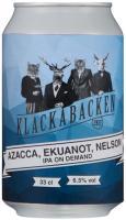 Klackabackens IPA On Demand: Azacca, Ekuanot, Nelson